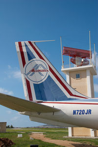 N720JR @ MLA - JAR Aviation Boeing 720