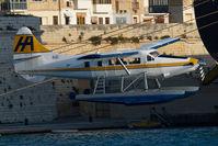 9H-AFA @ MLA - Harbour Air Dash 3 Turbo Otter