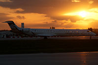 5A-LAA @ MLA - Libyan Arab Canadair Regionaljet 900