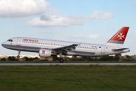 9H-AEO @ MLA - Air Malta Airbus 320