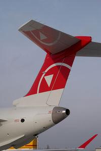 C-FQYX @ VIE - Northwest Airlink Canadair Regionaljet 900 - by Yakfreak - VAP