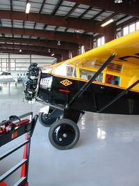 N278H @ HWD - At home in the hangar after the 2006 Merced Antique Fly-in - by BTBFlyboy