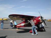 N501W @ CGZ - John Livingston's Original Clip Wing Monocoupe at the Cactus AAA Fly-in 2005 - by BTBFlyboy