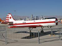 N110YK @ KLSV - Privately Owned - Peyton, Colorado / 1983 Yakovlev YAK 52 - by Brad Campbell