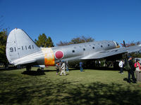 91-1141 @ RJNG - Curtiss C-46/Preserved,Gifu AB. - by Ian Woodcock