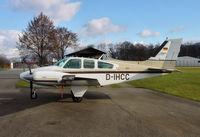 D-IHCC @ QFB - Beech B55 Baron - by J. Thoma