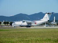 28-1001 @ RJNG - Kawasaki C-1/Gifu AB,Show. - by Ian Woodcock