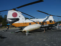 51804 - Kawasaki KV-107/Gifu Museum - by Ian Woodcock