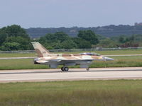 99-9426 @ NFW - #201 - Israeli Block 52 F-16D with conformal tanks - Test flight proir to delivery at Fort Worth - by Zane Adams