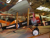 G-EBKY @ EGTH - Sopwith Pup Happy on display at the Shuttleworth collection - by BTBFlyboy