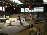 G-CAMM @ EGTH - The diminutive but very cute Hawker Cygnet at Old Warden Aerodrome - by BTBFlyboy