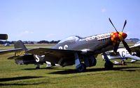N167F @ EGSU - P-51D.414450 B6 S.OLD CROW.Scandinavian Historic Flight. - by Robert Roggeman