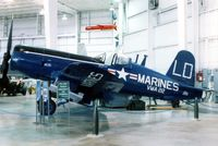133704 - Corsair at the Battleship Alabama Memorial Museum - by Glenn E. Chatfield