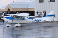 C-FGEF @ YXU - Taxiing from Ramp III for departure. - by topgun3