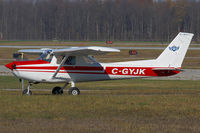 C-GYJK @ YXU - Taxiing on Alpha. - by topgun3