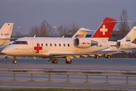 HB-JRA @ VIE - REGA - Swiss Air Ambulance CAnadair CL600 Challenger - by Thomas Ramgraber-VAP