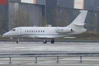 OY-ICE @ VIE - Air Alsie Dassault Falcon 2000