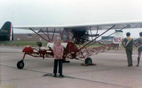 N1154 - Breezy at Great Southwest Airport Airshow, Ft. Worth, TX - taken by my father (That's me) - by Zane Adams