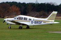 G-BRDF @ EGLM - Pa-28-161 at White Walthamm