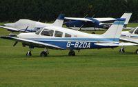 G-BZDA @ EGLM - Pa-28-161 at White Walthamm