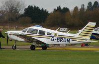 G-BRDM @ EGLM - Pa-28-161 at White Walthamm