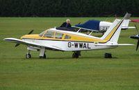 G-WWAL @ EGLM - Pa-28R-180 at White Waltham