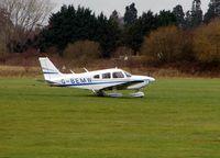G-BEMW @ EGLM - P-28-181 at White Waltham