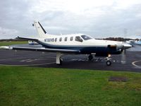 N700VB @ EGTB - TBM700 at Wycombe Air Park - Booker Airfield