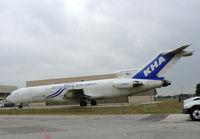 N180AX @ DFW - Kitty Hawk 727 at DFW West Freight Ramp