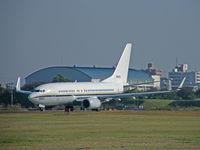 166693 @ RJTA - Boeing C-40A/USN/Atsugi - by Ian Woodcock