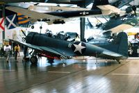 2106 @ NPA - SBD-2 at the National Museum of Naval Aviation - by Glenn E. Chatfield