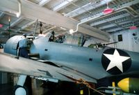 06508 @ NPA - SBD-3 at the National Museum of Naval Aviation - by Glenn E. Chatfield