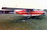 N3381G - Lockheed L-402 - Rare Bird - at the former Mangham Airport - North Richland Hills, TX - Destroyed in a fatal accident 3/29/86  http://www.ntsb.gov/ntsb/brief.asp?ev_id=20001213X33054&key=1