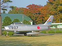 82-7807 @ RJTJ - F-86F/Iruma Base Collection - by Ian Woodcock