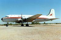 N44911 @ 34AZ - Bierget Aviation C54B  in pretty good external condition despite long term desert storage