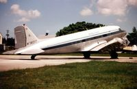N783T @ OPF - This sorry looking DC3 was photographed at Opa Locka in 1999