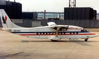 N632KC @ ORD - American Eagle operated this Shorts 360 ( c/n 3644 ) in 1992 seen here at Chicago O'Hare