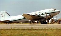 G-AMPZ @ EGVA - DC3 at Fairford Air Tattoo 1996