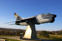 75-0403 - A-7D at Camp Dodge, IA, freshly restored - by Glenn E. Chatfield