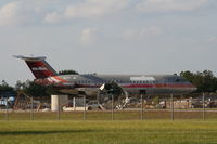 N1117J @ MCO - Ex US Air Bac 111 at Orlando