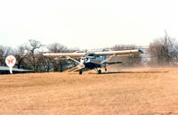 N5640N - Taking off at the former Goode Airport (23F)