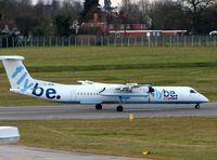 G-JECM @ EGBB - Flybe Dash8-400 at Birmingham International on 7th Dec 2007 - by Terry Fletcher
