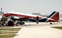 N47CR @ FLL - This old timer was photographed at FLL in 1989