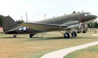 44-76671 @ SKF - Douglas VC-47D Sytrain (c/n 33003) was photographed at the USAF History and Traditions Museum at Lackland AFB Texas in 1994