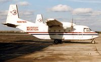 N287MA @ YIP - These marks were previously worn by Murray Aviation's Casa C212-200 cn 287 pictured here at its home base of Detroit Willow Run in 1997