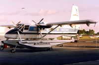 N422NE @ SRQ - Alimediterranea 's GAF Nomad pictured at Sarasota Bradenton in 1991 - this was my fist ever sighting of a GAF Nomad