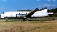 C-GKFY @ CYLW - In 1998 there were only remains of this classic aircraft when I got to photograph her at Kelowna - by Terry Fletcher