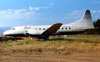 C-GTTG @ CYLW - These marks were previously worn by Cypress Airlines converted CV580 cn 580 seen here at Kelowna in 1998