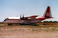 N138FF @ 34AZ - on T&G ramp at Chandler Memorial in 1996 - by Terry Fletcher