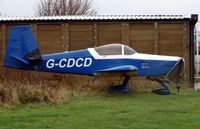 G-CDCD @ EGBW - on a wet Wellesbourne morning